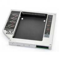 Адаптер подключения SSD/HDD 2.5'' в отсек привода ноутбука Grand-X HDC-26