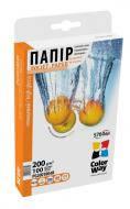 Бумага для фотопринтера ColorWay PG200-100 (PG2001004R)