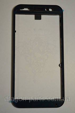 Передняя рамка  Nomi i451 Twist синяя, оригинал, фото 2