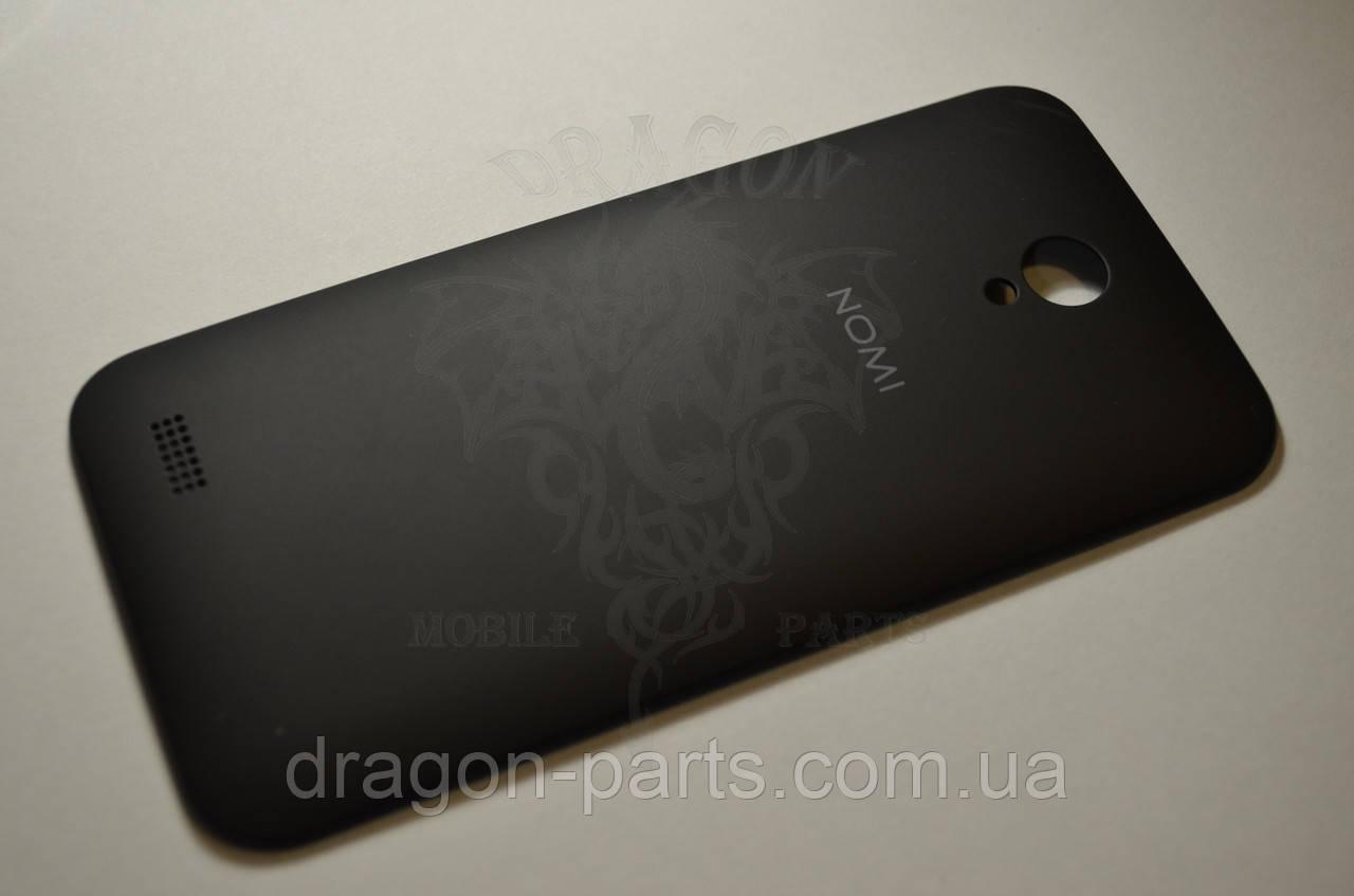 Задняя крышка  Nomi i451 Twist черная, оригинал