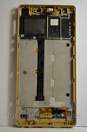 Дисплей Nomi i506 Shine с сенсором Gold, оригинал, фото 2