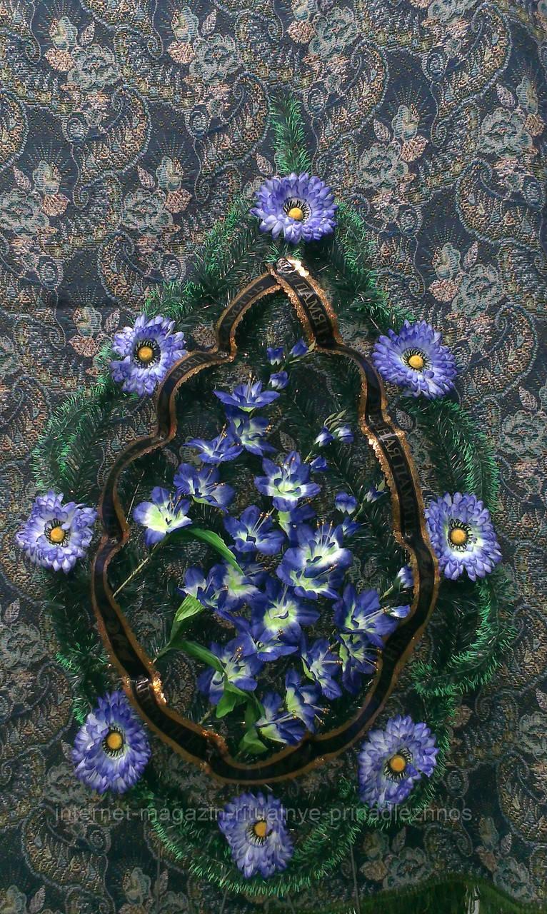 Цветы на венки ритуальные фото