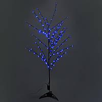 Светодиодное дерево, синее 1,5 м