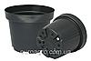 Горшок для рассады круглый d10,3 h7,6 v0,40 черный