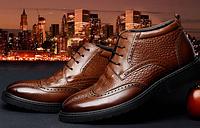 Мужские ботинки теплые 38-44 Модель 984