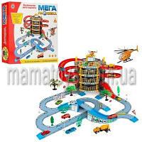Гараж Мега Парковка 922-10. 4 уровня +2 машинки и вертолет.