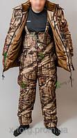 Зимний Костюм для охоты и рыбалки  «Рыбацкий» - мягкая ткань Алова, имеет хорошие теплоизоляционные свойства