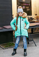 Детская куртка на девочку Зима № 203 kiri  цвета , фото 1