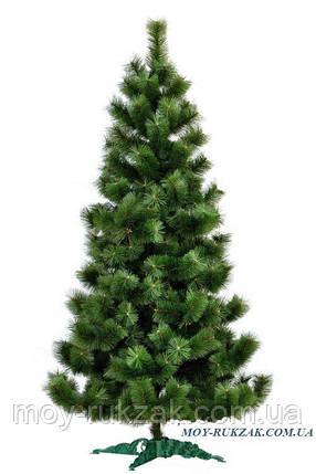 Сосна искусственная натурально - зеленая 2,3 м. макси плюс., фото 2