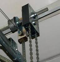 Ручной цепной привод для промышленных ворот