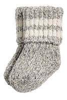 Детские полушерстяные носочки   6-12, 12-24 месяца