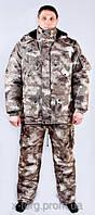 """Зимний Костюм для охоты и рыбалки камуфляжный """" Дымка"""" - качественный пошив, хорошо держит температуру"""