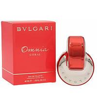 Женская туалетная вода Bvlgari Omnia Coral for Women Eau de Toilette (EDT) 40ml