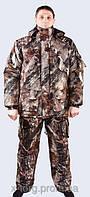 """Костюм камуфляжный зимний (""""светлый клён"""", ткань - алова мембранная, наполнитель - холлофайбер, размеры 48-68"""