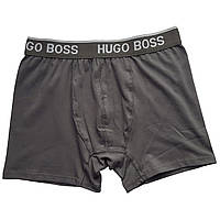 Мужские трусы HUGO BOSS L, Темно-серый