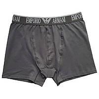 Мужские трусы Emporio Armani XL, Темно-серый
