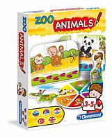 Развивающая игра 3в1 Clementoni Животные (60404)