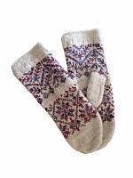 Перчатки-прихватки взрослые (фиолетовые) (Шерстяные перчатки)