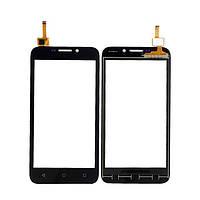 Тачскрин сенсорное стекло для Huawei Y5C/Y541 black
