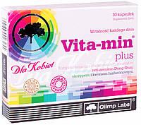 Olimp Nutrition Vita-Min Plus for Woman (30 капс.)