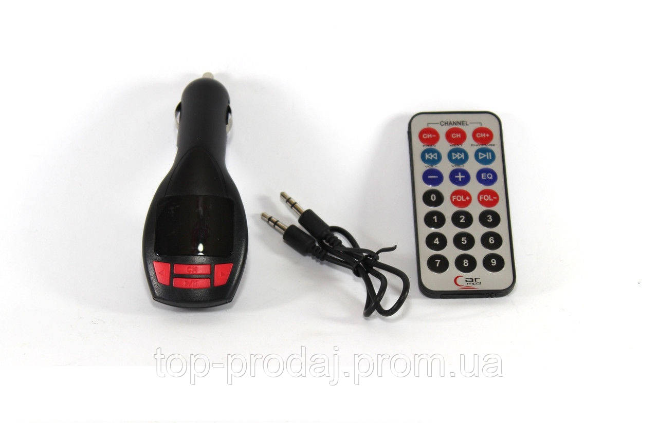 Трансмитер FM MOD. CM 7010, FM модулятор, авто трансмиттер, ФМ трансмиттер