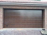 Гаражные ворота АЛЮТЕХ, производство 3 дня, цена не большая, ассортимент панелей.