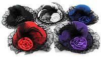"""Шляпка """"Гламур"""", 4 цвета"""