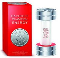 Мужская туалетная вода Davidoff Champion Energy (Давидов Чемпион Энерджи)фужерный аромат со специями  AAT