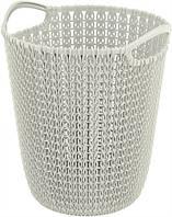 Корзина пластиковая круглая белая 230Х240Х270 мм Curver CR-03678-1