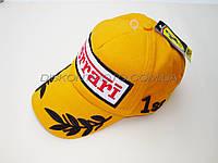 Бейсболка FERRARI (желтая 100% хлопок)
