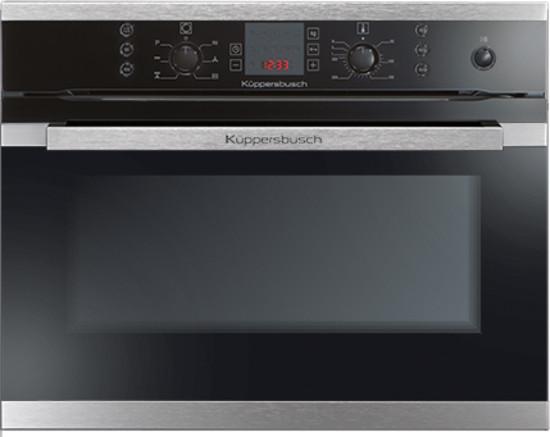 Встраиваемый компактный духовой шкаф с функцией микроволн Kuppersbusch EMWK 9700.1 J1 (CBM 6550.0)