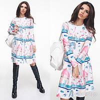 Платье Молодёжное розовое