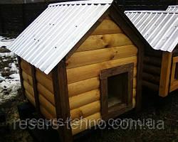 Будки для собак утеплені під ключ