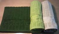 Полотенце махровое Бамбук 50х90см, 70х140см