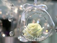 Подвесной шар стеклянный