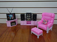 Entertainment living room furniture