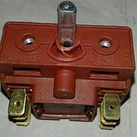 Переключатель на печь № 304 на 3 - 3 выводов, короткий (красный)