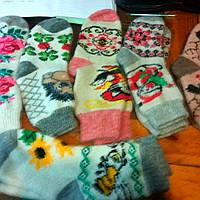 Теплые шерстяные носки ангора женская
