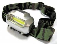 Налобный фонарь 2088-COB