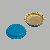 Кронен крышка для пивных бутылок 100 шт. синяя