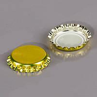 Кронен крышка для пивной бутылки 100 шт. золотая