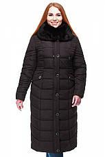 Женское длинное зимнее пальто большого размера  Дайкири в Украине по низким ценам , фото 2