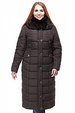 Женское длинное зимнее пальто большого размера  Дайкири в Украине по низким ценам , фото 3