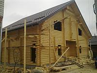 Дом деревянный со сруба