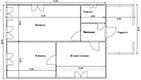 Проекты одноэтажных домов Вариант №5