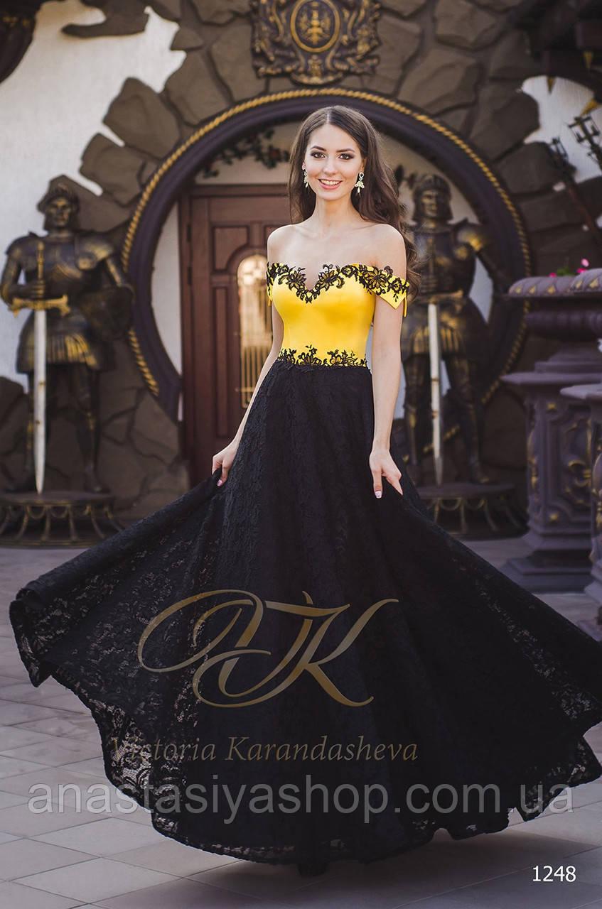 вечернее платье 1248