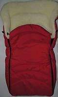 Конверт в санки и коляску Bonna (красный)