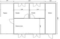 Проекты двухэтажных домов Вариант №7