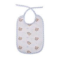 Детский нагрудник на завязках от 4 месяцев (упаковка 12 шт)