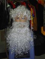 Парик с бородой Деда Мороза 1379-8